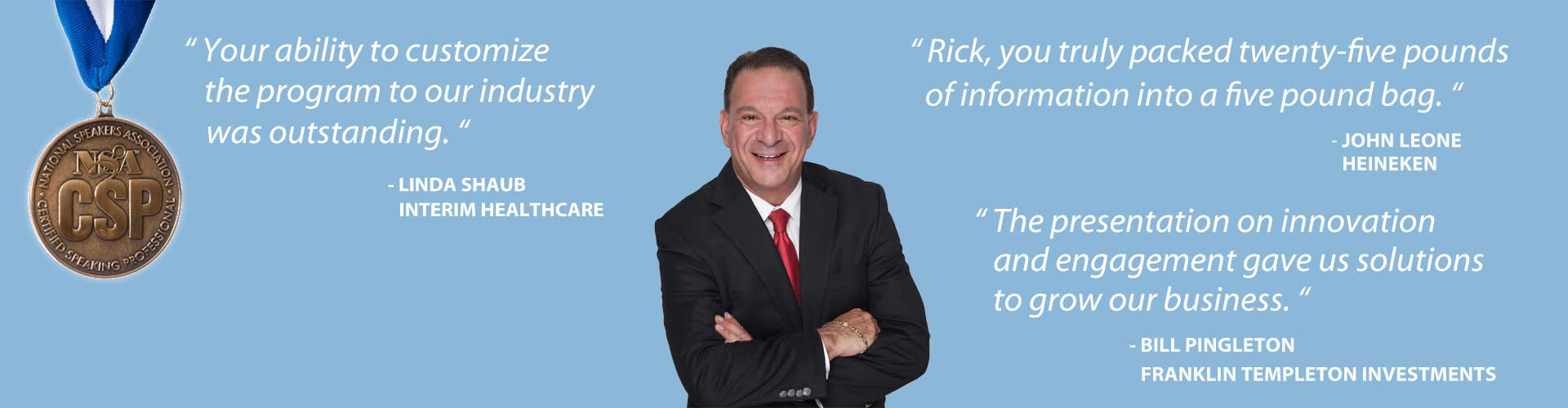 Motivate Your Organization with leading public speaker dr rick goodman