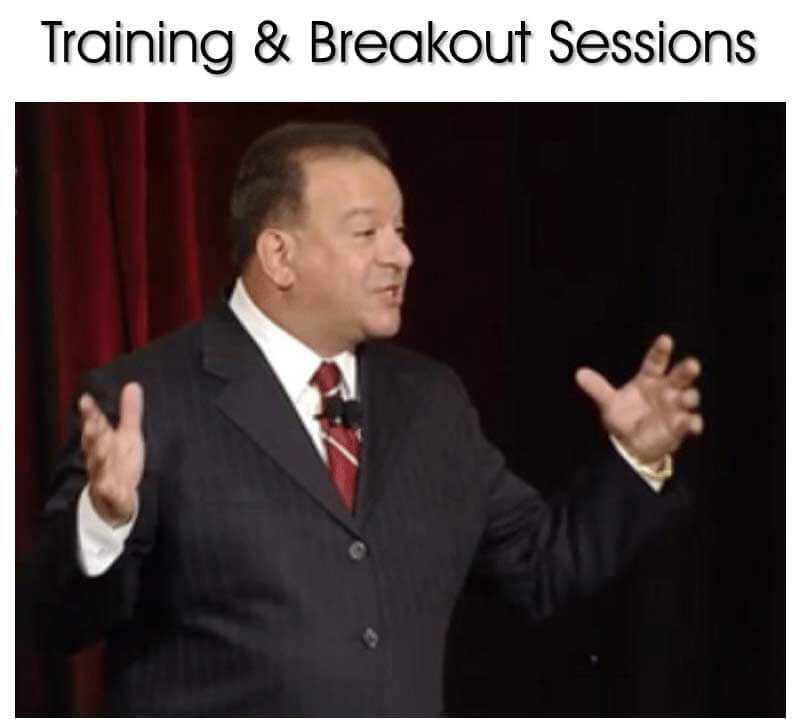 training and breakout workshops