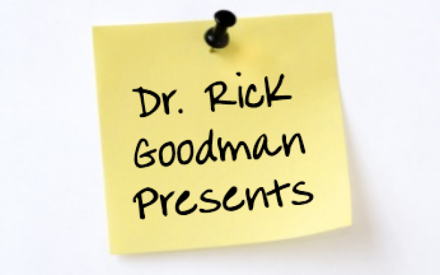 Dr. Rick Goodman Speaker's Kit