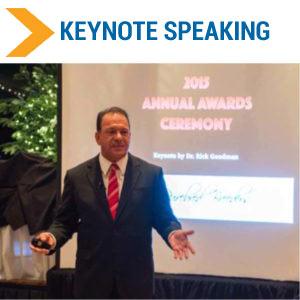 Rick Goodman Keynote Speaker