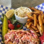 Anglins Beach Cafe Lobster Roll