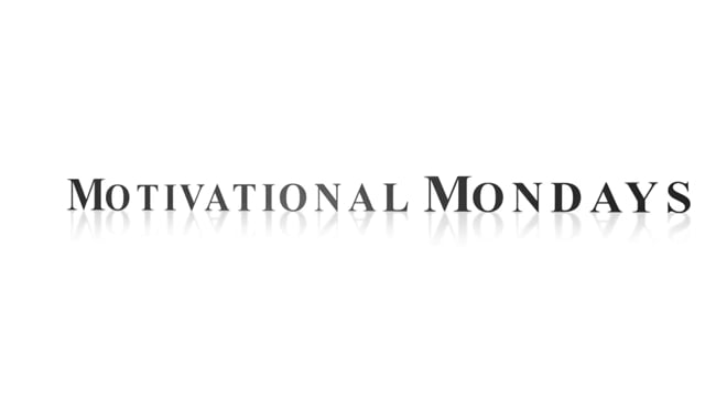 Monday Morning Motivation: Stay Focused Dr. Rick Goodman Motivational Keynote Speaker