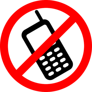Turn off your mobile phone
